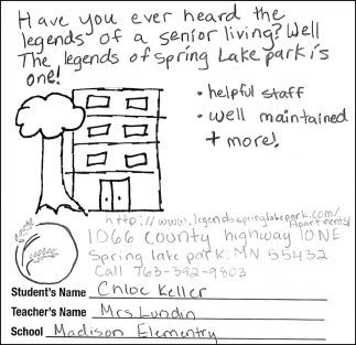 The Legends Of Spring Lake Park