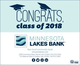 Congrats, Class of 2018