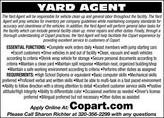 Yard Agent