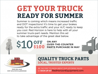Get Your Truck Ready for Summer