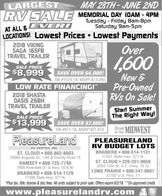 Lowest Prices, Lowest Payments