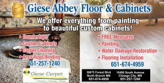 Giese Abbey Floor & Cabinets