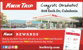 Congrats Gradvates!, Kwik Trip, Minneapolis, MN