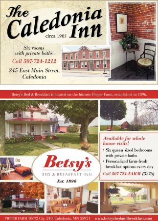 The Caledonia Inn & Betsy's Bed & Breakfast Inn