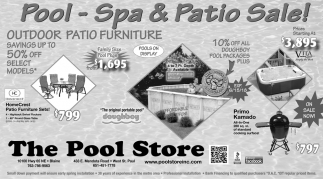 Pool - Spa & Patio Sale