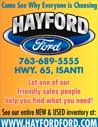 Come See Why Everyone is Choosing Hayford