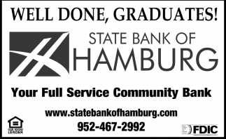Well done, Graduates!