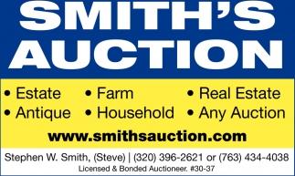 Smith's Auction