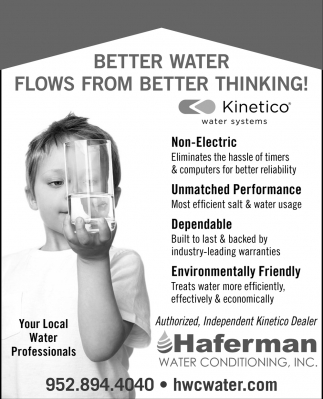 Better Water Flows From Better Thinking