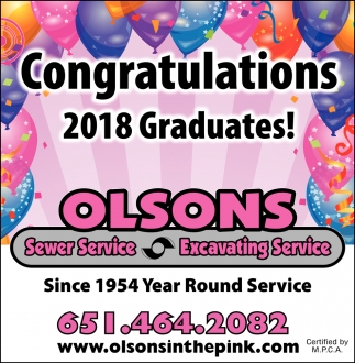 Congratulations 2018 Graduates!