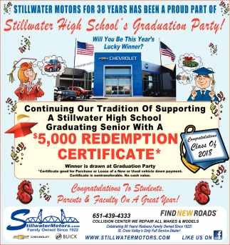 Stillwater High School's Graduation Party!