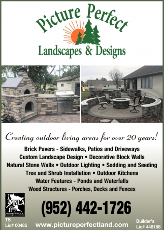 Creating Outdoor Living Areas for over 20 Years!