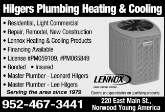 Hilgers Plumbing Heating & Cooling