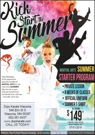 Kick Start the Summer