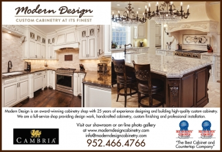 Custom Cabinetry at its Finest