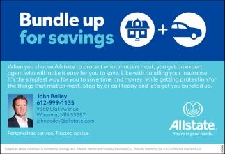 Bundle up for Savings