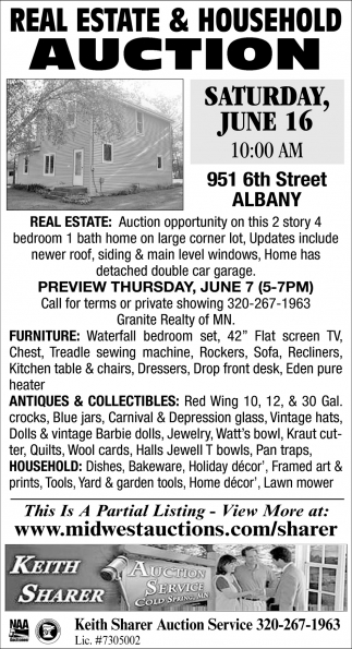 Real Estate & Household Auction