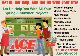 Let us Help You with All Your Spring & Summer Projects!