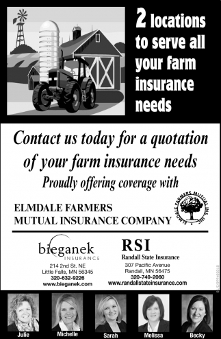 Contact us Today for a Quotation of Your Farm Insurance Needs