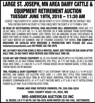 Equipment Retirement Auction