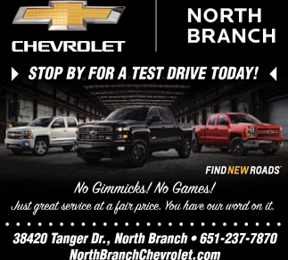 Stop by for a Test Drive Today