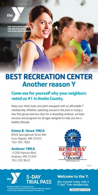 Best Recreation Center