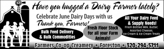 Have You Hugged a Dairy Farmer Lately?