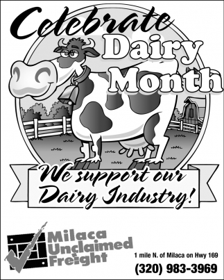 We Support Our Dairy Industry!
