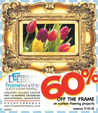 Quality Custom Framing