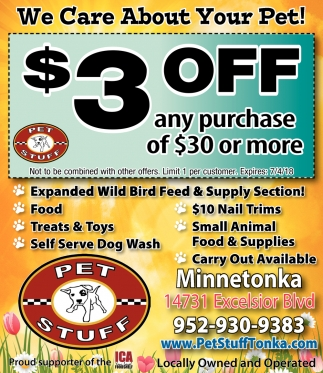 We Care About Your Pet!