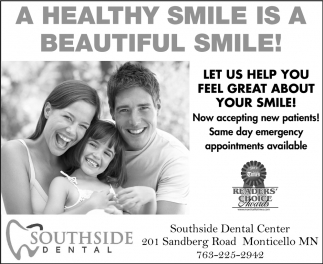 A Healthy Smile Is A Beautiful Smile!