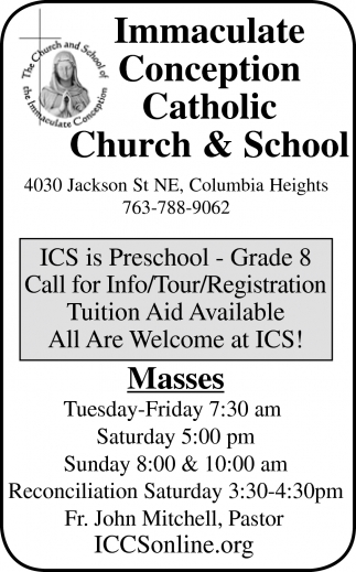 Immaculate Conception Catholic Church And School