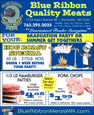 For Your Graduation Party or Summer Get Togethers