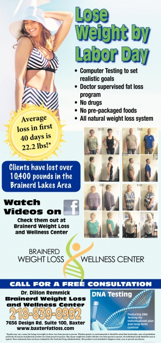 Lifetime fat loss center baxter mn