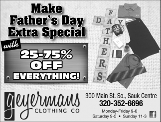 Make Father's Day Extra Special