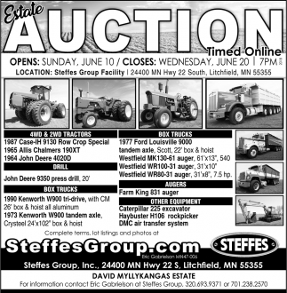 Estate Auction Timed Online