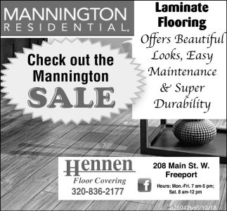 Check Out the Mannington Sale!