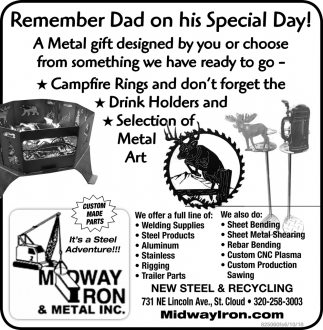 Remember Dad on his Special Day!