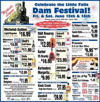 Little Falls Dam Festival