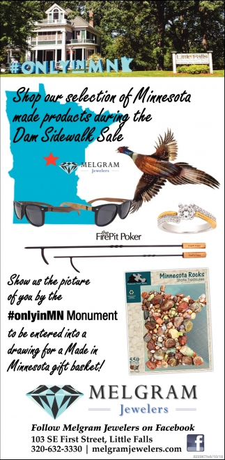 Shop Our Selection of Minnesota Made Products During the Dam Sidewalk Sale