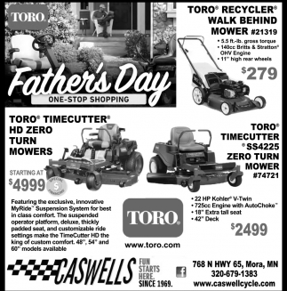 Father's Day One-Stop Shopping