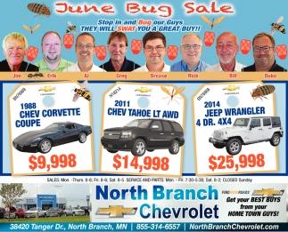 June Bug Sale