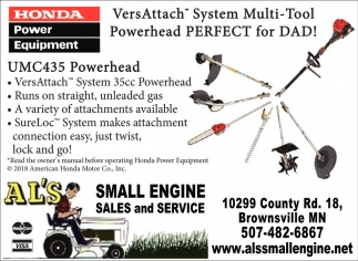 Small Engine Sales and Service