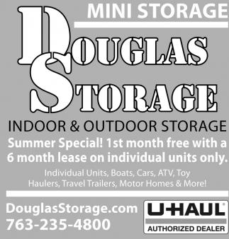 Indoor & Outdoor Storage