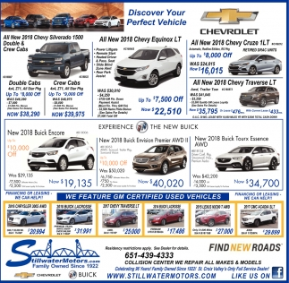 Discover Your Perfect Vehicle