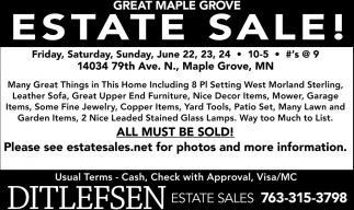 Estate Sale!