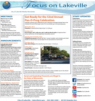 Focus on Lakeville