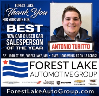 Forest Lake Auto Group >> Automotive Group Forest Lake Forest Lake Mn