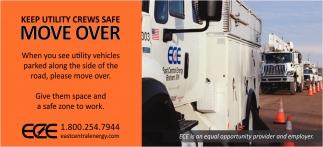 Keep Utility Crews Safe