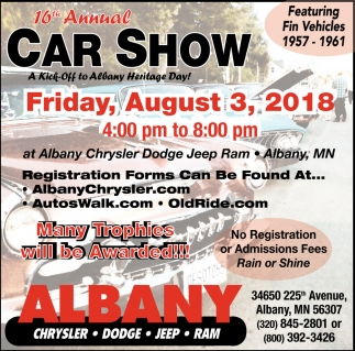 16th Annual Car Show